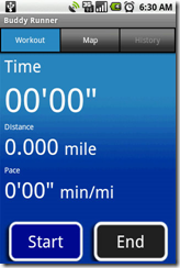 Buddy Runner Android App